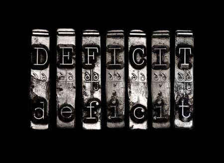 shortfall: Deficit