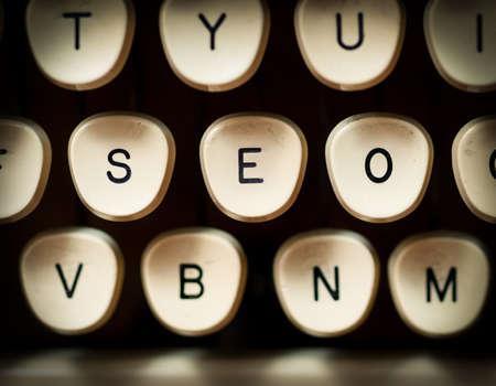 Internet search engine optimization Stock Photo