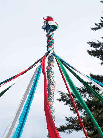 maypole: Maypole celebration