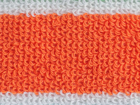 beach towel: Orange beach towel