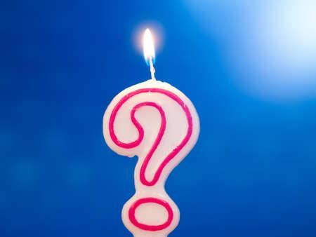 velitas de cumpleaños: Edad desconocida o cumpleaños