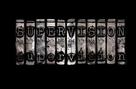 supervisión: Concepto de Supervisión