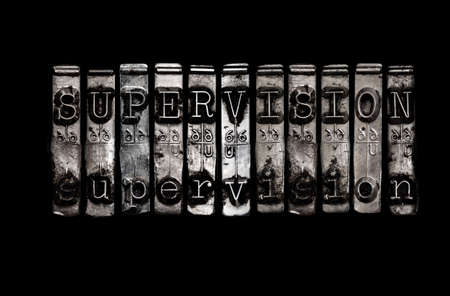 Supervision concept