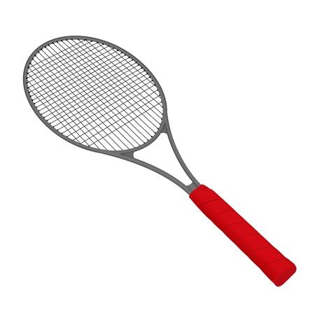 racquetball: Raqueta de tenis realista