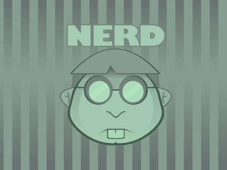 Nerd Wallpaper Vector