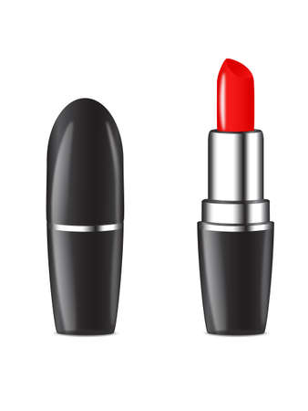 Isolated Lipstick in a white background Vector