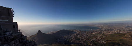 robben island: A Panorama of Lion s Head and the City of Cape Town