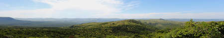 game reserve: A Panorama of the Hills of Ithala Game Reserve in Kwa-Zulu Natal