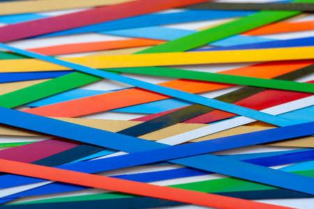 Background of bright stripes. Banco de Imagens