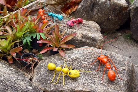 Artificial Ants 写真素材