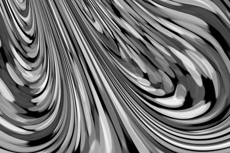 Abstract background of contrasting swirling lines in black and white. Reklamní fotografie