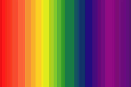 Rainbow background. Color rainbow texture of discrete bands.