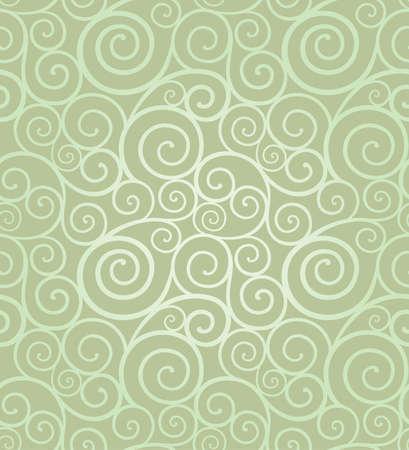 Streszczenie eleganckie wirować bez szwu kompozycja wykonana z spirale Ilustracje wektorowe