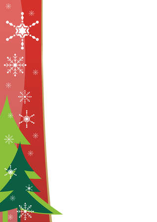 Christmas border template photo