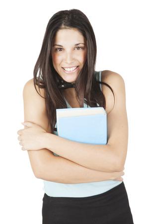 Happy Teenage Student Stock Photo