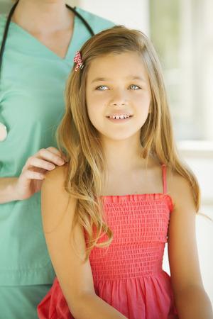Girl with Pediatritian photo