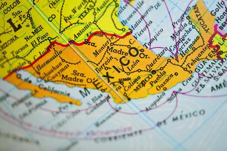 メキシコ地図 写真素材 - 37323587