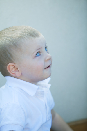 12 18 months: Beautiful blonde little baby boy