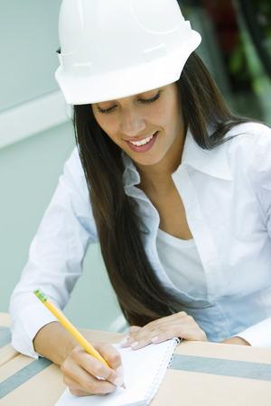 female architect: Female architect working