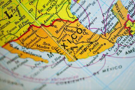 mexico map: Mexico map