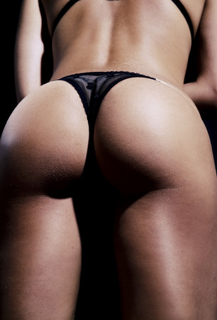 sexy panties: Sexy woman butt
