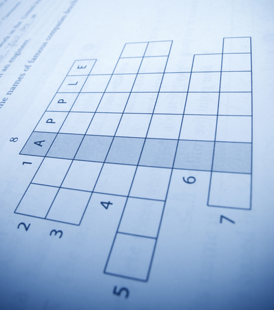 clues: Crossword