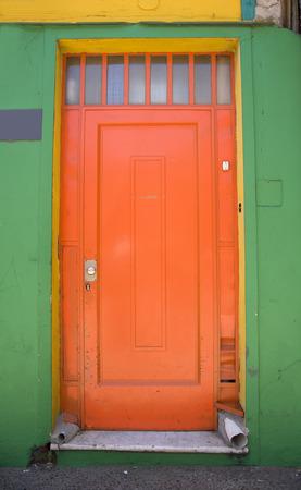 la boca: Door in La Boca, Buenos Aires Argentina Stock Photo