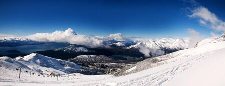 bariloche: Winter panorama