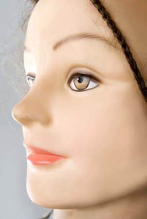 face to face: Mannequin face Stock Photo