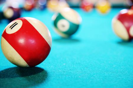 billiards halls: Pool tablet