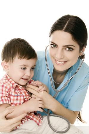 medico pediatra: Bebé y pediatra