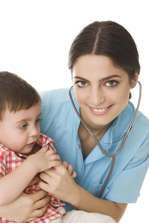 pediatrician: Beb� y pediatra