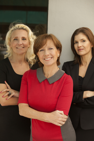 Group of mature business women Banco de Imagens