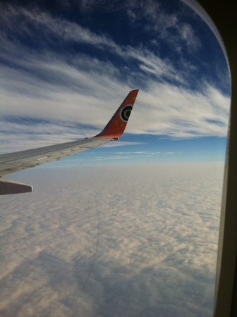 capetown: Flying on our way to capetown South Africa