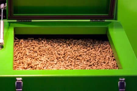 pellet gun: biomass in the tank for heating