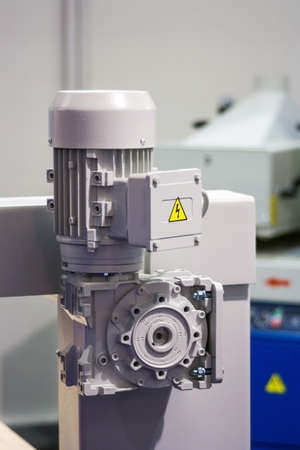 electric motor: Electric motor of a new industrial machine