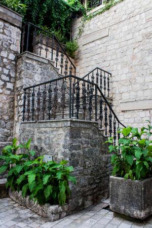Escalera de piedra Foto de archivo - 40329890