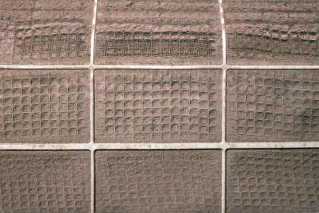 very dirty: Very dirty dirty air conditioner filter