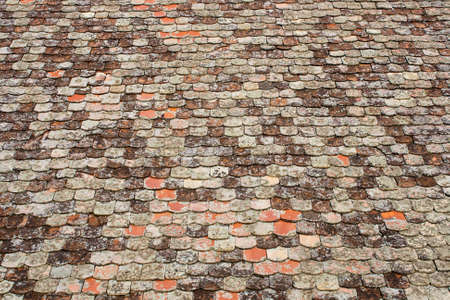 roof tile: Texture of the old roof tile