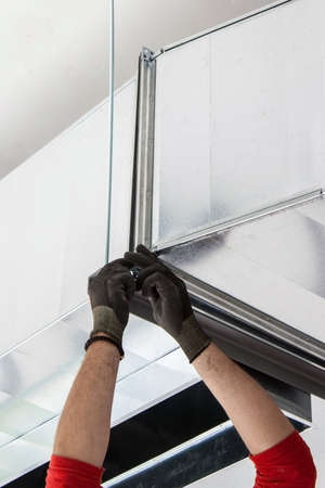 fresh air: installation of ventilation ducts for the insertion of fresh air