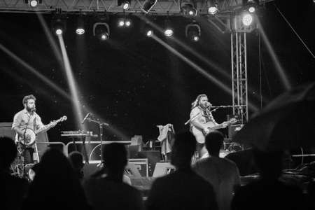 vivo: Bergamo, Italy. 21st July 2017. Italian rock band Blindur performs at the Rock sul Serio festival. Brambilla Simone Photography Live News