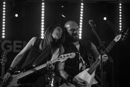 vivo: Milan, Italy. 29th September 2017. Rock band Starsick System performs at Legend Club. Brambilla Simone Photography Live News