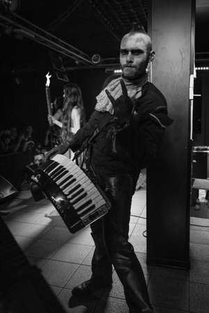 Milan, Italy - June 6, 2018: Italian metal rock band DEATHLESS LEGACY, from Tuscany, performs at LEGEND CLUB of Milan. Brambilla Simone Live News photographer Editoriali