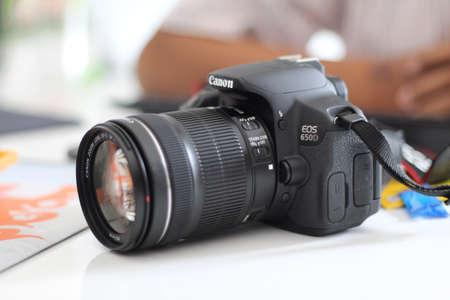 eos: camera Stock Photo