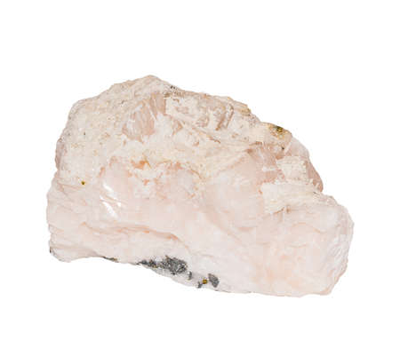 dolomite: Pink dolomite from Morocco isolated