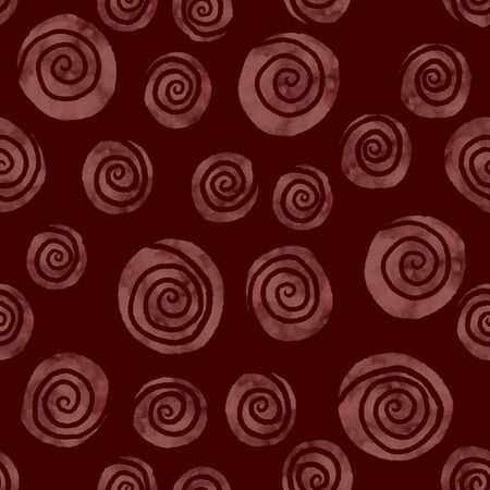 Pink swirl seamless pattern. Surface desing for textile and wallpaper. 版權商用圖片