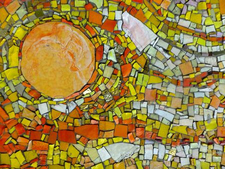 mosaic: Mosaic sun