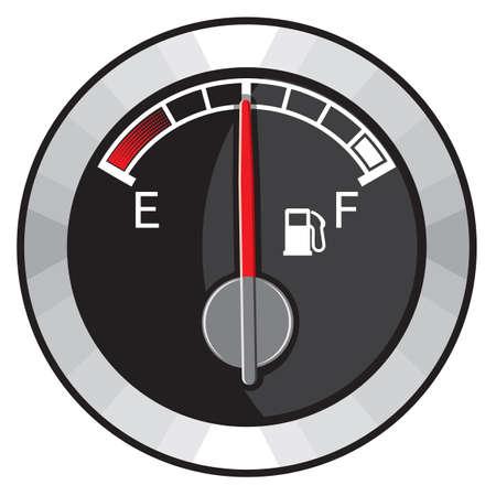tanque de combustible: medio tanque de gasolina