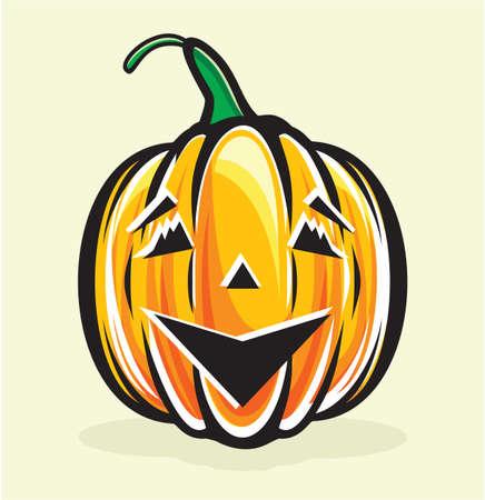 halloween pumpkin jack lantern Stock Vector - 15770221