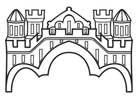 stone arch: castle